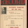 Motion picture record, Vol. 4, no. 42