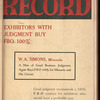 Motion picture record, Vol. 4, no. 43