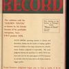 Motion picture record, Vol. 4, no. 47