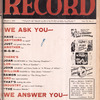 Motion picture record, Vol. 6, no. 9