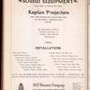 Motion picture record, Vol. 6, no. 9