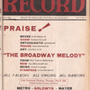 Motion picture record, Vol. 6, no. 12