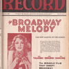 Motion picture record, Vol. 6, no. 13