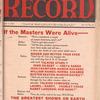 Motion picture record, Vol. 6, no. 28