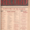 Motion picture record, Vol. 6, no. 30