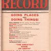 Motion picture record, Vol. 6, no. 33