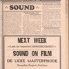 Motion picture record, Vol. 6, no. 39