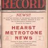 Motion picture record, Vol. 6, no. 47