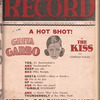 Motion picture record, Vol. 7, no. 1 [i.e. Vol. 6, no. 48]