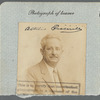 Passport photograph of Attilio Piccirilli