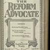 The Reform advocate, Vol. 82, no. 5