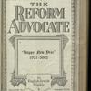 The Reform advocate, Vol. 82, no. 7