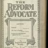 The Reform advocate, Vol. 82, no. 9