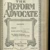 The Reform advocate, Vol. 82, no. 10