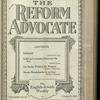 The Reform advocate, Vol. 82, no. 12