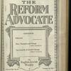The Reform advocate, Vol. 82, no. 13