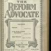 The Reform advocate, Vol. 82, no. 14