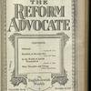 The Reform advocate, Vol. 82, no. 16