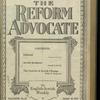 The Reform advocate, Vol. 82, no. 25