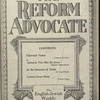 The Reform advocate, Vol. 83, no. 2