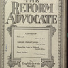 The Reform advocate, Vol. 83, no. 5
