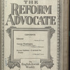 The Reform advocate, Vol. 83, no. 8
