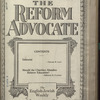 The Reform advocate, Vol. 83, no. 10