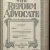 The Reform advocate, Vol. 83, no. 13