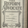 The Reform advocate, Vol. 83, no. 14
