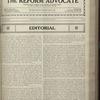 The Reform advocate, Vol. 83, no. 14