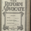 The Reform advocate, Vol. 83, no. 16