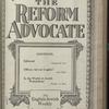 The Reform advocate, Vol. 83, no. 17
