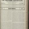 The Reform advocate, Vol. 83, no. 18