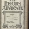 The Reform advocate, Vol. 83, no. 19