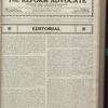 The Reform advocate, Vol. 83, no. 24