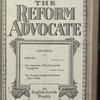 The Reform advocate, Vol. 83, no. 26