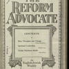 The Reform advocate, Vol. 85, no. 2