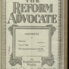 The Reform advocate, Vol. 85, no. 3