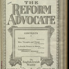 The Reform advocate, Vol. 85, no. 4