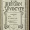 The Reform advocate, Vol. 85, no. 4