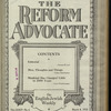 The Reform advocate, Vol. 85, no. 6