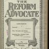 The Reform advocate, Vol. 85, no. 6