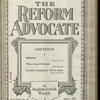 The Reform advocate, Vol. 85, no. 10