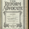 The Reform advocate, Vol. 85, no. 12