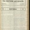 The Reform advocate, Vol. 85, no. 13
