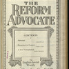 The Reform advocate, Vol. 85, no. 16