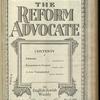 The Reform advocate, Vol. 85, no. 16