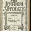 The Reform advocate, Vol. 85, no. 18