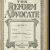 The Reform advocate, Vol. 85, no. 20