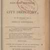 New York City directory, 1806/07